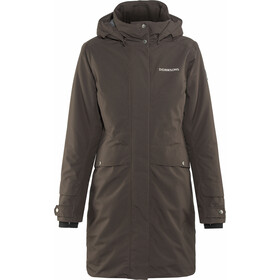Didriksons 1913 Eline Parka Women Chocolate Brown